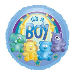 100 Units of CT 17 DS It's A Boy - Balloons/Balloon Holder