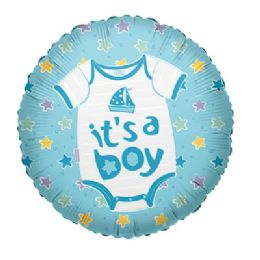 100 Units of CV 18 SS It's A Boy Baby Clothes