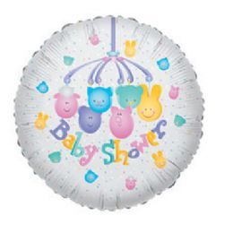 100 Units of CV 18 SS Baby Shower Mobil - Balloons/Balloon Holder