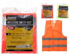 144 Units of Adult Safety Vest One Size - Safety Helmets