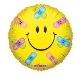 100 Units of CV 18 DV Smiley Band-Aids