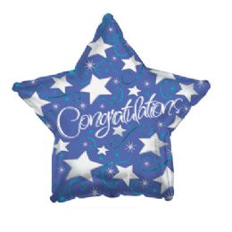 100 Units of CT 17 DS Congrats Silver Stars