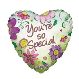 100 Units of CV 18 DS You're So Special Flowers - Balloons/Balloon Holder