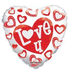 100 Units of CV 18 DV I Love U Gellibean - Balloons/Balloon Holder