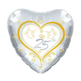 100 Units of CT 17 DS 25th Anniversary Doves - Balloons/Balloon Holder