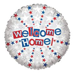 100 Units of CV 18 SS Welcome Home - Balloons/Balloon Holder