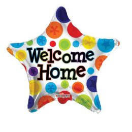 100 Units of Balloon CV 18 DS Welcome Home Star - Balloons/Balloon Holder