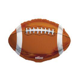 100 Units of CV 18 DS Football - Balloons/Balloon Holder