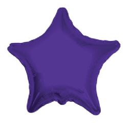 100 Units of CV 18 DS Star Purple - Balloons/Balloon Holder