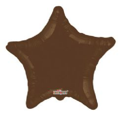 100 Units of CV 18 DS Star Brown - Balloons/Balloon Holder