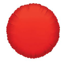 100 Units of CV 18 DS Round Red - Balloons/Balloon Holder