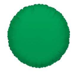 100 Units of CV 18 DS Round Emerald Green - Balloons/Balloon Holder