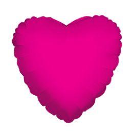 100 Units of CV 18 DS Heart Hot Pink - Balloons/Balloon Holder