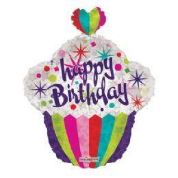 100 Units of Happy Birthday Balloon