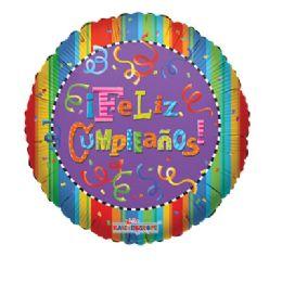 100 Units of Feliz Cumpleanos Balloon