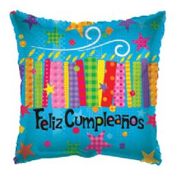 100 Units of Feliz Cumpleanos Balloon - Balloons/Balloon Holder