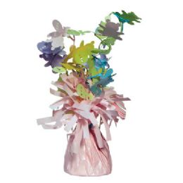 48 Units of Wght Tinsel Pink Baby 4.75oz - Party Novelties