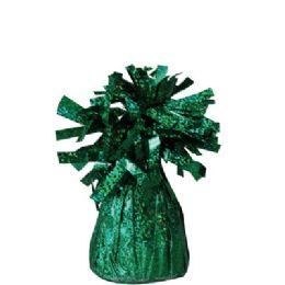 72 Units of Wght Tinsel Green Sprkl 4.75oz - Party Novelties
