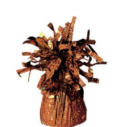 72 Units of Wght Tinsel Brown 4.75oz - Party Novelties