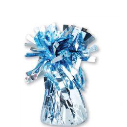 72 Units of Wght Tinsel Ice Blue Shiny 4.75oz - Party Novelties