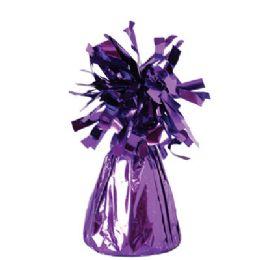 72 Units of Wght Tinsel Purple Shiny 4.75oz - Party Novelties
