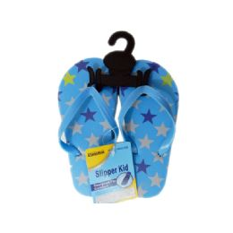 72 Units of Boys Assorted Print Flip Flop - Boys Flip Flops & Sandals
