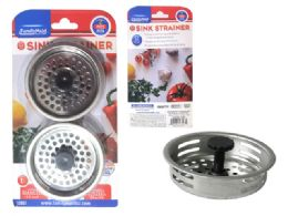 96 Units of 2 Piece Sink Strainer Set - Strainers & Funnels