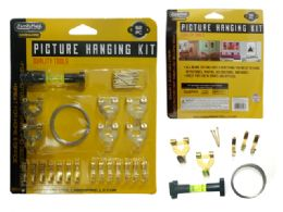 144 Units of Picture Hook Kit 52pc - Hooks