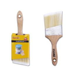 """144 Units of Paint Brush Angle Wood 3"""" - Paint and Supplies"""