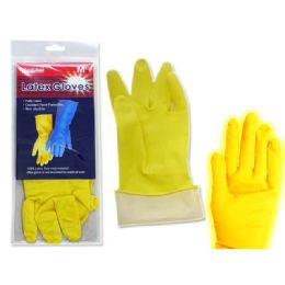 144 Units of Gloves Latex 1 Pair Medium - Kitchen Gloves