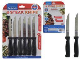 96 Units of 6 Piece Steak Knives - Kitchen Knives