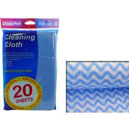 96 Units of Cleaning Cloth 20pcs 32x32cm - Cleaning Products