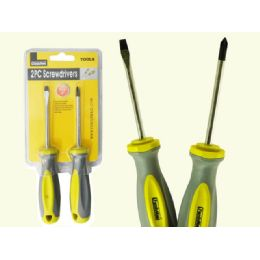 96 Units of 2 Piece ScrewDrivers - Screwdrivers and Sets
