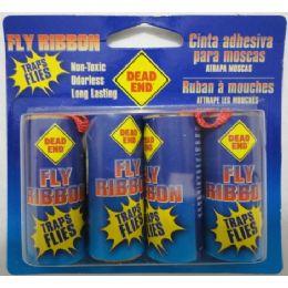 72 Units of 4pk Fly Ribbon - Pest Control