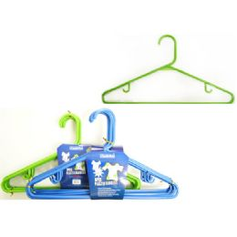 96 Units of Hanger Adult 8/pk Asst Color - Hangers
