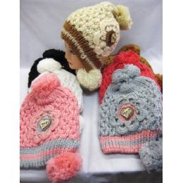 48 Units of Ladies Fashion Winter Hat Assorted Colors - Fashion Winter Hats