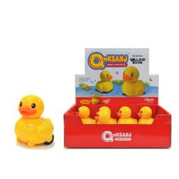 48 Units of Friction Spinning Yellow Duck - Easter