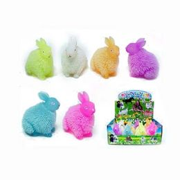 72 Units of Puffer Light Up Rabbit - Easter