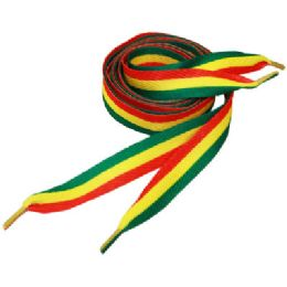 288 Units of Multi Colored Shoe Laces - Footwear Accessories