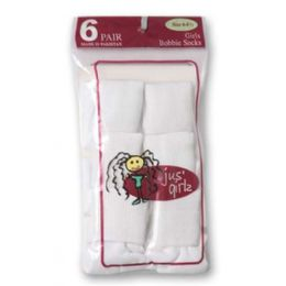 36 Units of Kid's Socks Assorted Sizes Of 4-6 - Girls Ankle Sock