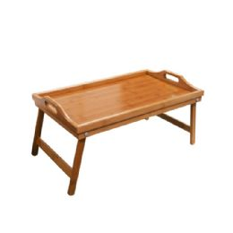 3 Units of Bamboo Bed Tray With Folding Legs - Home Decor