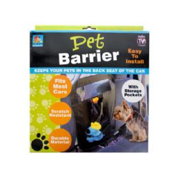 12 Units of Auto Pet Barrier with Storage Pockets - Auto Accessories