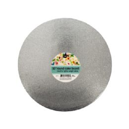 72 Units of Round Cake Board - Baking Supplies