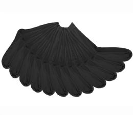 108 Units of Men's Single Pack Black Dress Socks - Mens Dress Sock