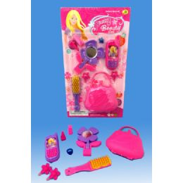72 Units of Beauty set in blister card - Girls Toys