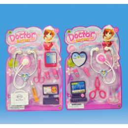 72 Units of Doctor set in blister card - Girls Toys