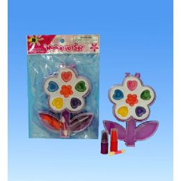144 Units of Flower Make Up In Poly Bag - Girls Toys