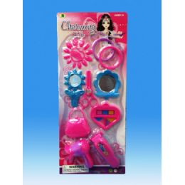 96 Units of Beauty set in blister card - Girls Toys