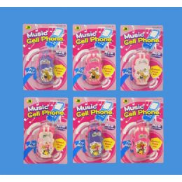 288 Units of CELL PHONE IN BLISTER - Girls Toys