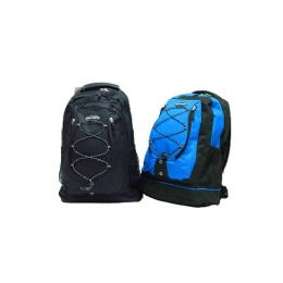 "24 Units of 18"" HeavY-Duty Poly Backpack - Backpacks 18"" or Larger"